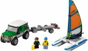 lego city 60149 - firhjulstrækker med katamaran - Lego
