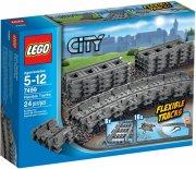 lego city togskinner / flexible tracks - 7499 - Lego