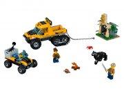 lego city 60159 - junglemission i hjul- og bæltekøretøj - Lego