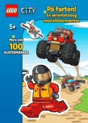 lego city aktivitetsbog med klistermærker - på farten - Kreativitet