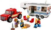 lego city 60182 - pickup og campingvogn - Lego