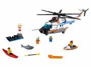 lego city 60166 - stor redningshelikopter - Lego