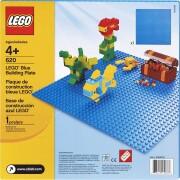 lego classic - blå byggeplade til leg - Lego