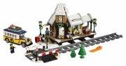 lego creator 10259 - vinterlandsbyens station - Lego