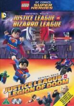 lego dc comics super heroes: justice league vs. bizarro league // justice league vs legion of doom - DVD