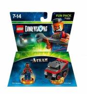lego dimensions figur - a-team bil og mr. t - Lego