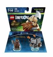lego dimensions - gimli fra ringenes herre - fun pack - Lego