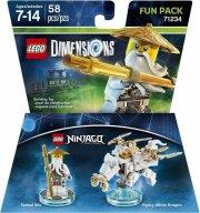 lego dimensions - sensei wu fra ninjago - fun pack - Lego