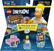 lego dimensions level pack - the simpsons - Lego