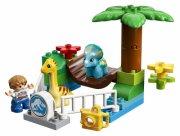 lego duplo - de blide kæmpers børne-zoo - Lego