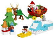 lego duplo 10837 - julemandens juleferie - Lego