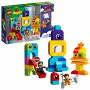 lego duplo - lego filmen 2 - emmet og lucys gæster fra duplo® planeten - 10895 - Lego