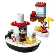 lego duplo - mickey's dampbåd - Lego