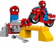 lego duplo - spider-man web-bike workshop - 10607 - Lego