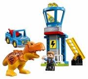lego duplo 10880 - t. rex tårn - Lego