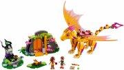 lego elves - ilddragens lavahule (41175) - Lego