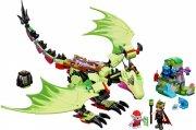 lego elves grøn drage 41183 - gnomkongens onde drage - Lego