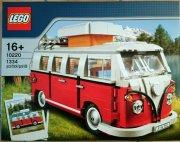 lego exclusive 10220 - volkswagen t1 camper van / campingbus - Lego