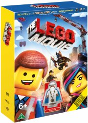 lego the movie / lego filmen inkl. lego figur - DVD