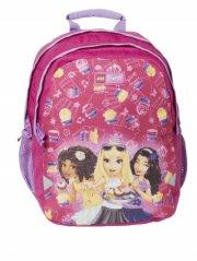 lego friends - lille rygsæk / børnehavetaske - cupcake - Skole