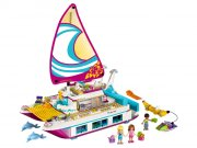 lego friends båd 41317- solskins katamaran - Lego