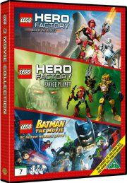 lego batman // lego hero factory: rise of the rookies // lego hero factory: savage planet - DVD