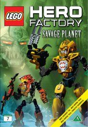 lego hero factory - savage planet - DVD