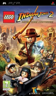 lego indiana jones 2: the adventure continues - psp