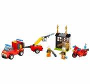 lego juniors 10740 - brandpatruljekuffert - Lego