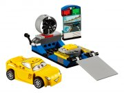 lego junior disney cars 10731 - cruz ramirez racersimulator - Lego