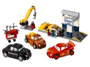 lego juniors cars 3 10743 - smokeys værksted - Lego
