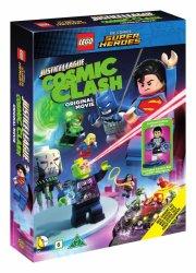 lego: justice league - cosmic clash med figur - DVD