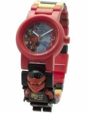 lego ninjago armbåndsur - med minifigur - kai - Diverse