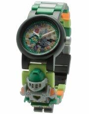 lego nexo knight armbåndsur - med minigfigur - aaron - Diverse