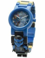 lego ninjago armbåndsur - med minifigur - jay - Diverse