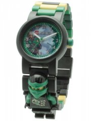 lego ninjago armbåndsur - med minifigur - lloyd - Diverse