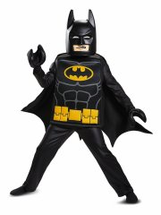lego batman kostume deluxeudgave - 4-6 år - Udklædning