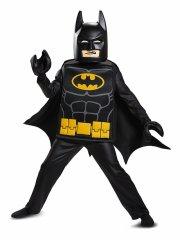 lego batman kostume deluxeudgave - 7-8 år - Udklædning