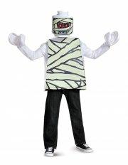 lego mumie kostume deluxeudgave - 7-8 år - Udklædning