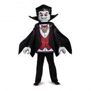 lego vampyr kostume deluxeudgave - 4-6 år - Udklædning