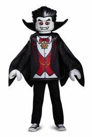 lego vampyr kostume deluxeudgave - 7-8 år - Udklædning