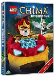 lego: legends of chima 2 - episode 5-8 - DVD
