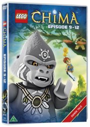 lego: legends of chima 3 - episode 9-12 - DVD