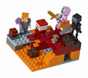lego minecraft 21139 - netherkampen - Lego