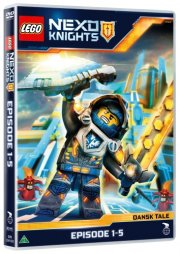 lego nexo knights - episode 1-5 - DVD