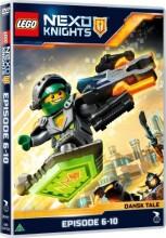 lego nexo knights - episode 6-10 - DVD