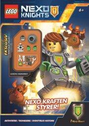 lego nexo knights: nexo kraften styrer - aktivitetsbog med minifigur - Kreativitet
