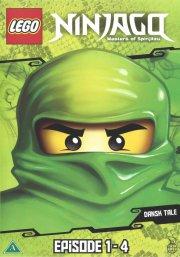 lego ninjago 1 - episode 1-4 - DVD