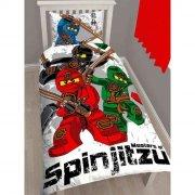 lego ninjago sengetøj / sengesæt - 135 x 200 cm - Til Boligen