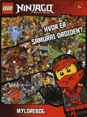 lego ninjago myldrebog  - uden klodser
